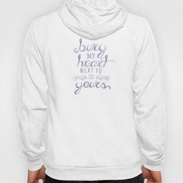 LYRICS - Next to yours - COLOR Hoody