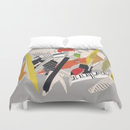 Multicolor collage ign Duvet Cover