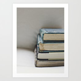 Vintage Books 2 - Book series Art Print