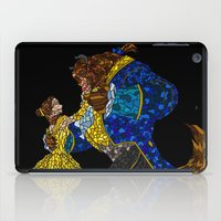 beauty and the beast iPad Cases featuring Beauty and the Beast by JackEmmett