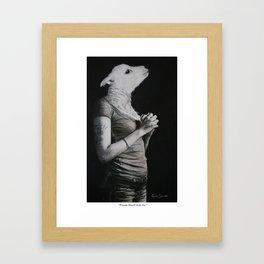 """Please Don't Kill Us"" Framed Art Print"