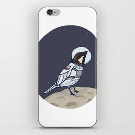 Space Sparrow iPhone Skin