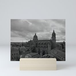 Cathédrale Noire de Salamanque Mini Art Print