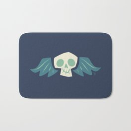 Graveyard Skulls Bath Mat