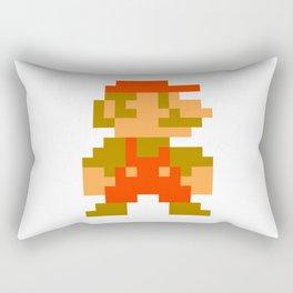 Pixel Mario Rectangular Pillow