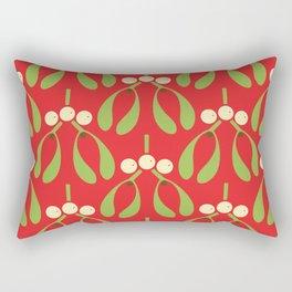 Anytime Is Mistletoe Time! Rectangular Pillow