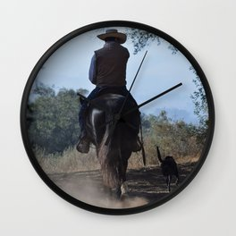 The Cowboy Life Wall Clock