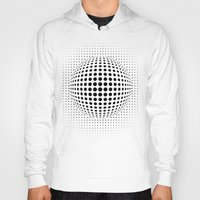 dots Hoodies featuring dots by siloto