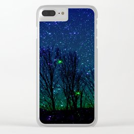 shining stars Clear iPhone Case