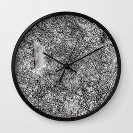 Curbside (B&W) Wall Clock
