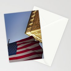 Cornice with flag Stationery Cards