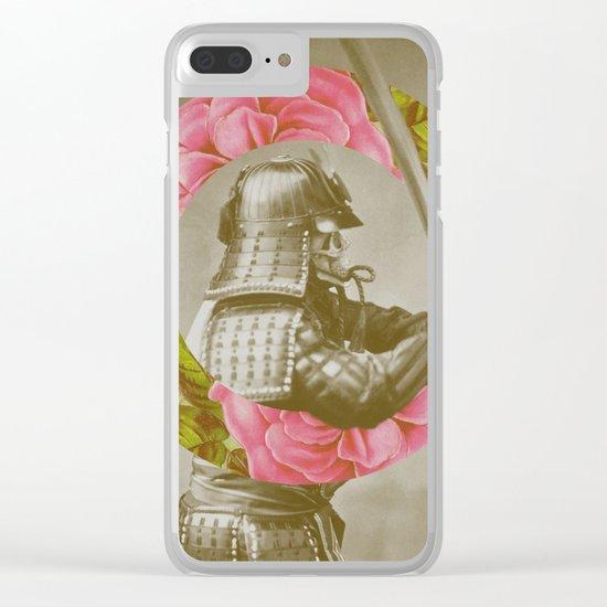 Botanical Samurai Clear iPhone Case