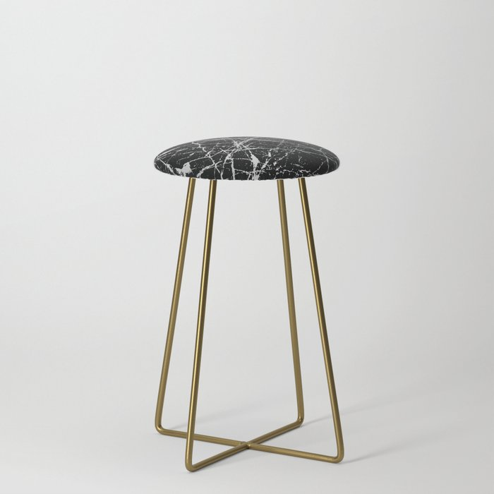 Silver Splatter 090 Counter Stool