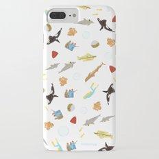 The Life Aquatic with Steve Zissou: Repeat Pattern Slim Case iPhone 8 Plus