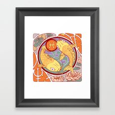 Happy Birthday, Pisces! Framed Art Print