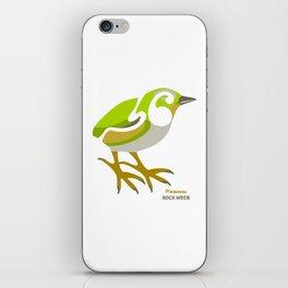 Rock Wren New Zealand Bird iPhone Skin