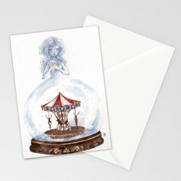 Christmas Carousel Stationery Cards