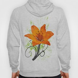 Wild abstract flower Hoody