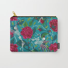 Death of Summer (carmine and blue) Carry-All Pouch
