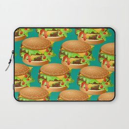 Double Cheeseburgers Laptop Sleeve