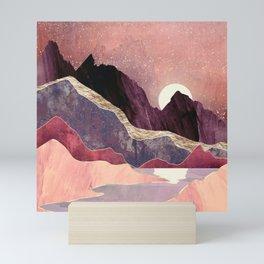 Blush Vista Mini Art Print