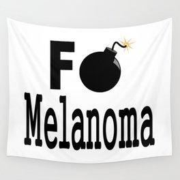 F Bomb Melanoma Wall Tapestry