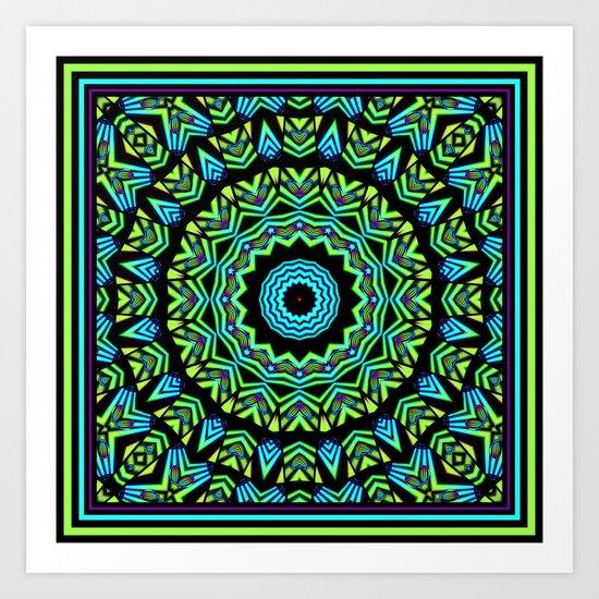 Tribal K Art Print