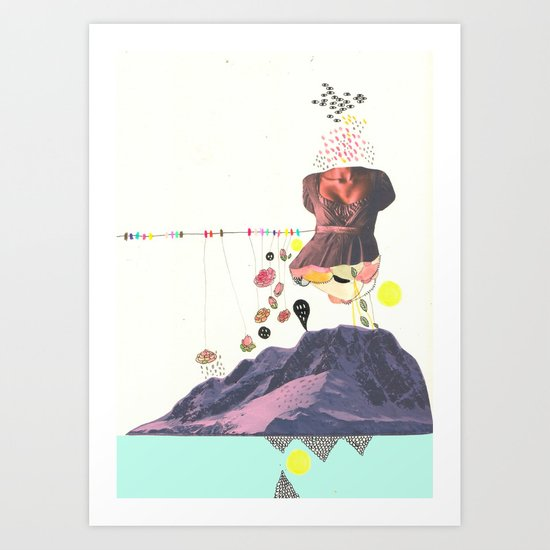 In a Pretty Land---for RVLVR Art Print