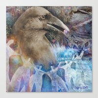 fairy tale Canvas Prints featuring Fairy Tale by Visionary Imagery