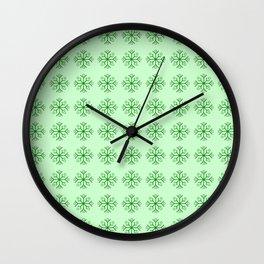 snowflake 7 For Christmas ! Wall Clock