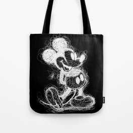 Mickey Mouse inverted Scribble Tote Bag