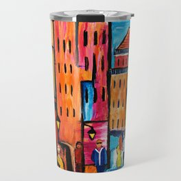 Afternoon Walk Downtown Travel Mug