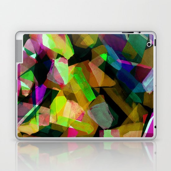 Geometric Puzzel Laptop & iPad Skin
