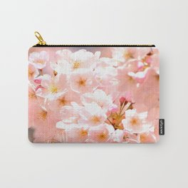 Pretty Pink Spring Blossoms :) Carry-All Pouch