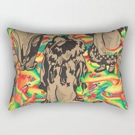 Eskimo Curlew I Rectangular Pillow