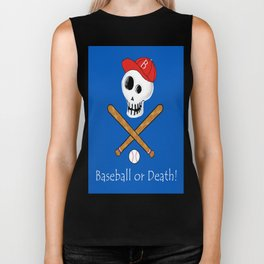 Baseball or Death! Biker Tank