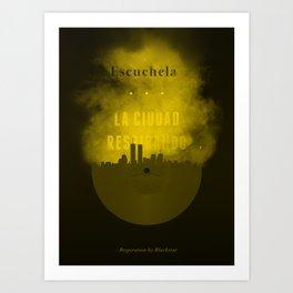 Respiration - Blackstar Art Print