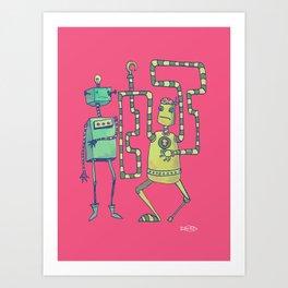 Robo Pirates! Art Print
