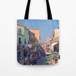 Cinque Terre Streets Tote Bag