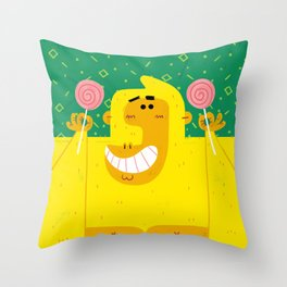 Gorilla Goodness II Throw Pillow