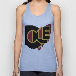 CLE, Ohio Unisex Tank Top