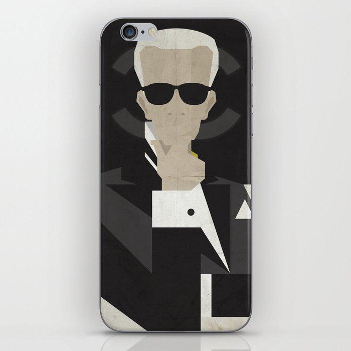 Karl iPhone Skin