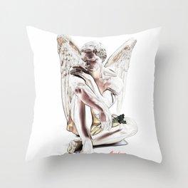 Angel's Rest ( El descanso del Ángel )  Throw Pillow