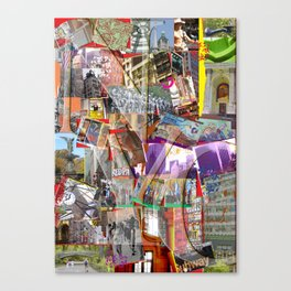 NYC PUZZLE Canvas Print