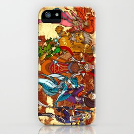 Seven Sages of Hyrule iPhone Case