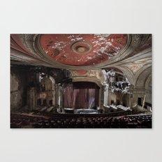 Paramount Theater Canvas Print