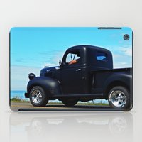 fargo iPad Cases featuring Cruising the Waterfront in the old Fargo by DanByTheSea