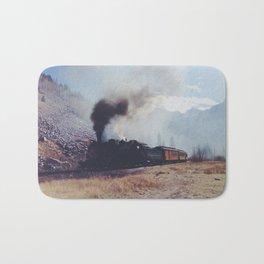 Mountain Train Bath Mat
