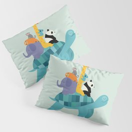 Travel Together Pillow Sham