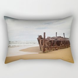 SS Maheno Shipwreck Rectangular Pillow